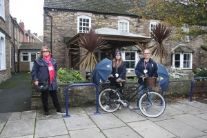 Bike Rack Success for Portishead High Street