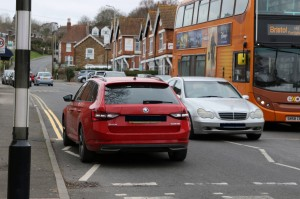 Parking Spaces Removal - Combe Road