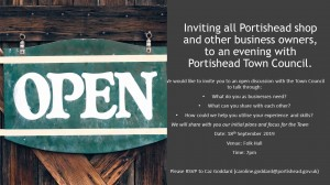 Portishead Shop & Business Owners meeting 18.09.2019 image